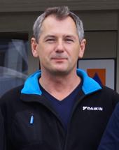 Tomas Wiak, produktchef på Daikin Sverige